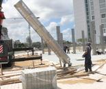 ''Water Columns'' under construction
