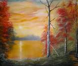 Sun rise Lake