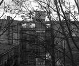 Berlin Wedding - A room with a view b/w