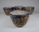 Rock textured cups