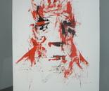 Visages #2 Rouge sang