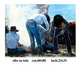 branding-oil on canvas-80x70cm