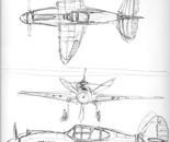 Curtiss P40 B