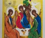 Holy Trinity with correspondent symbolism
