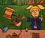 Trump: The Mad Hare