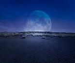 Desert Moon, Purple Night