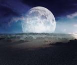 Desert Moon, Black Sunset
