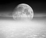 Desert Moon, Monochrome