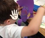 Kindergarten Dotted Pumpkin