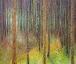 HOMAGE TO KLIMT PINE FOREST 2