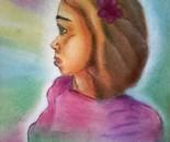 Girl with aura