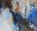 Nestflucht, 2018, 120x160cm, Acryl auf Leinwand