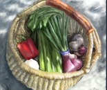 A Basket of Veggies