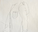 Blind Drawing 2