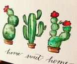 Cacti Home Sweet Home
