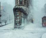 Flatiron under the snowstorm
