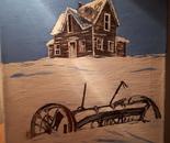 Saskatchewan old farmhouse.
