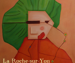 A lady from La Roche-Sur-Ton