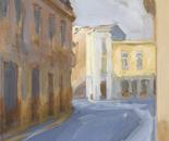 Old street in Bucharest