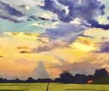 Luang Neua sunset