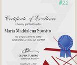 Certificate Contest # 22
