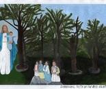 Garabandal Faith on the Rock painting