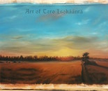 National romantic landscape-study