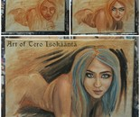 All prima portrait study