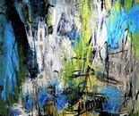 Náttúrulýsing 180x150 cm - artist Birgit Kirke