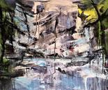 Náttúrulýsing 50x70 cm - artist Birgit Kirke
