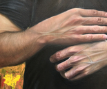 "Close up of ""Realism meets Impressionism"""