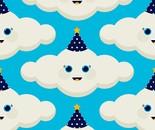 Nubes de fiesta