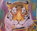The tiger of different shades