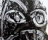 expressionism portrait 6 drawing