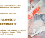 Invitation for exibition, Poland Ciechanów