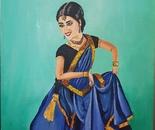 Katthak dancer