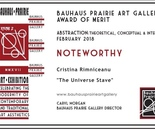 Bauhaus Prairie Art Gallery Award