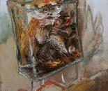 Affenliebe, 2012, 100x80 cm