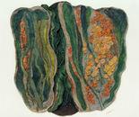 Lichen, Rocks & Reeds