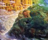 A sleeping woman 2003