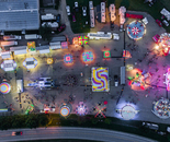 Fairground Night Color Wheels