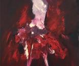 Imaginaire 2018-05, acrylique sur toile, 50 x 70