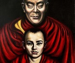The meditation of His Holiness Dalai Lama XIV