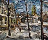 Winter square
