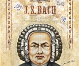 """J. S. Bach 36"""" x 48"""""""
