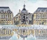 The Place de La Bourse Bordeaux