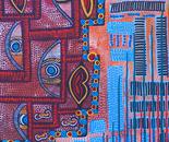 Color shapes inspired Israeli artist Mirit Ben-Nun