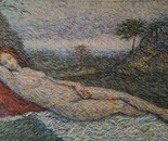 Study After Giorgione's Sleeping Venus