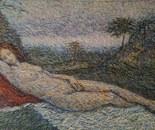 Study After Giorgione's Sleeping Venus