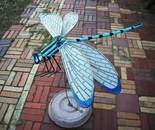 Painted lg Dragonfly